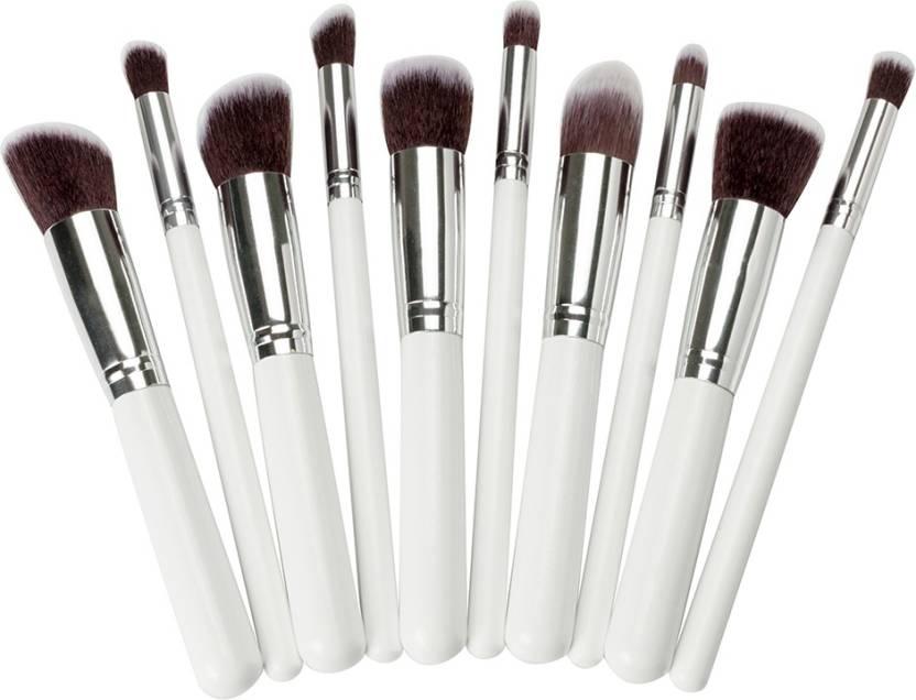 Yoana Professional Series Kabuki Makeup Brush Set White Price In - Kabuki-makeup