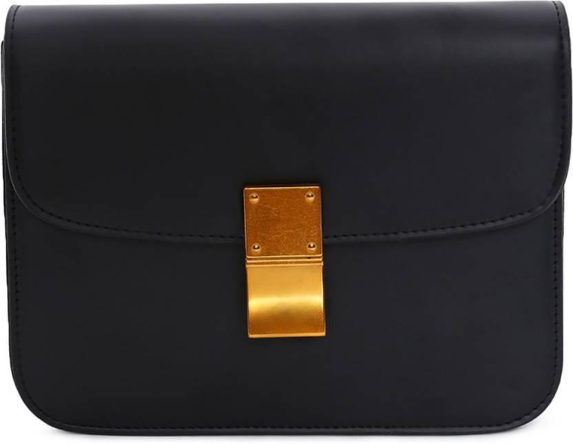 Couch Potato Hand Held Bag Black