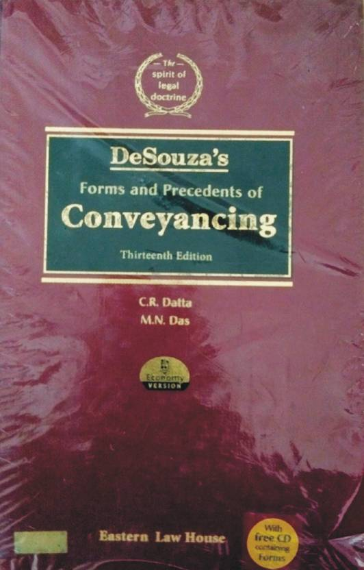 Desouza's Forms And Precedents Of CONVEYANCING (Famous Book