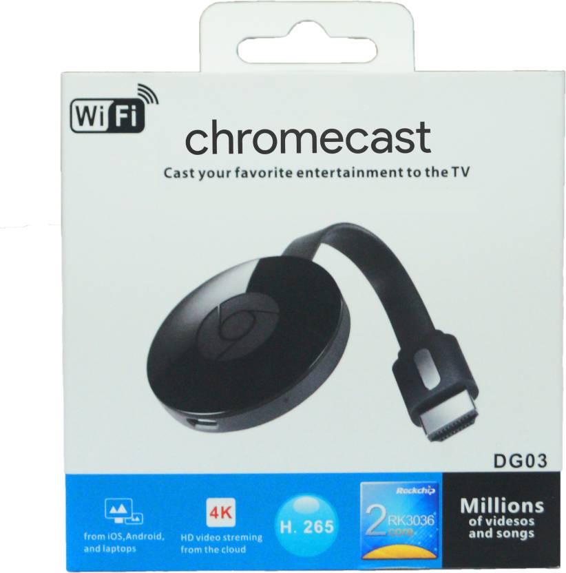 Hisonton Chromecast 2 Media Streaming Device