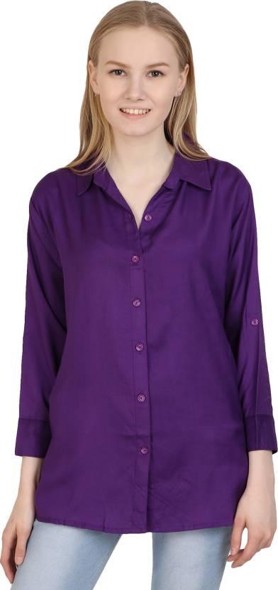 8742f72b204b4 Western World Women Solid Formal Shirt - Buy Western World Women ...