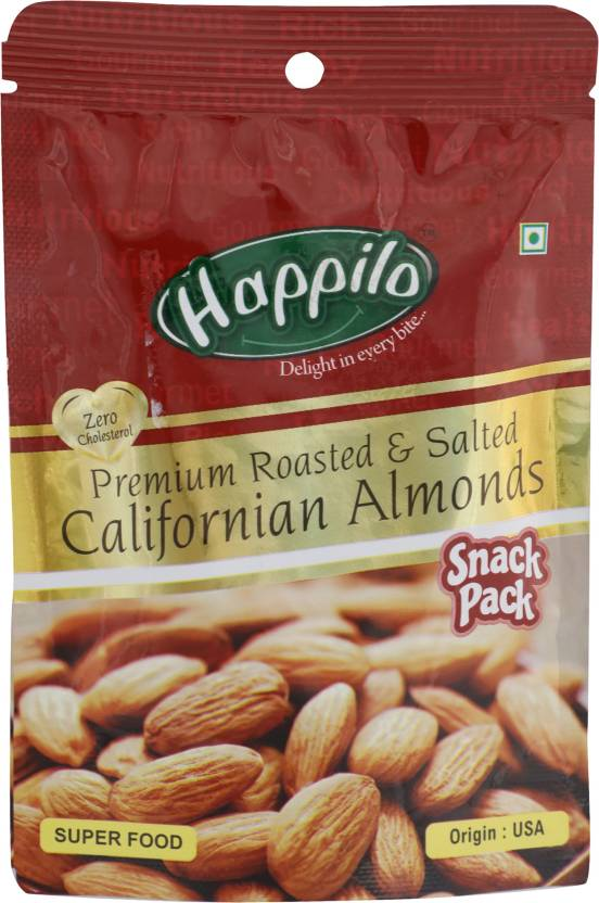 Happilo Premium Roasted and Salted Californian Almonds