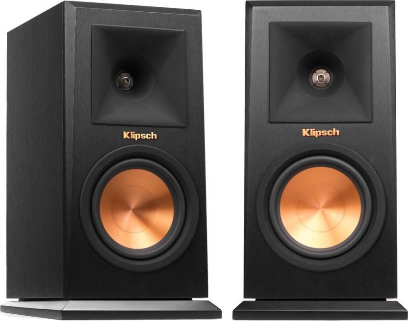 Klipsch RP 150 M Bookshelf Speaker Pair Tight Punchy Lows And Clear Mids