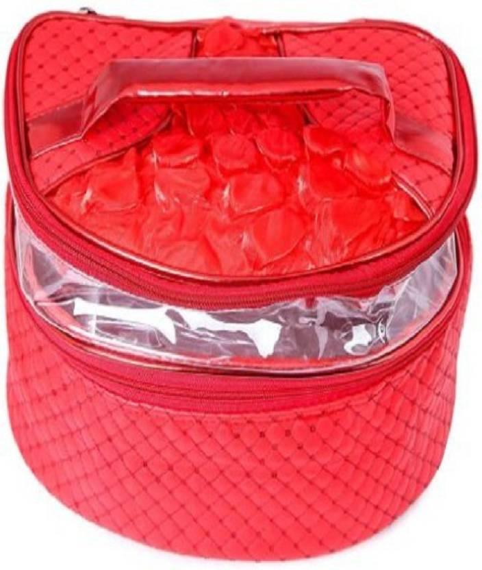 Na Purse Vanity Kit Makup Cosmetic Organizer Bag 2 Box