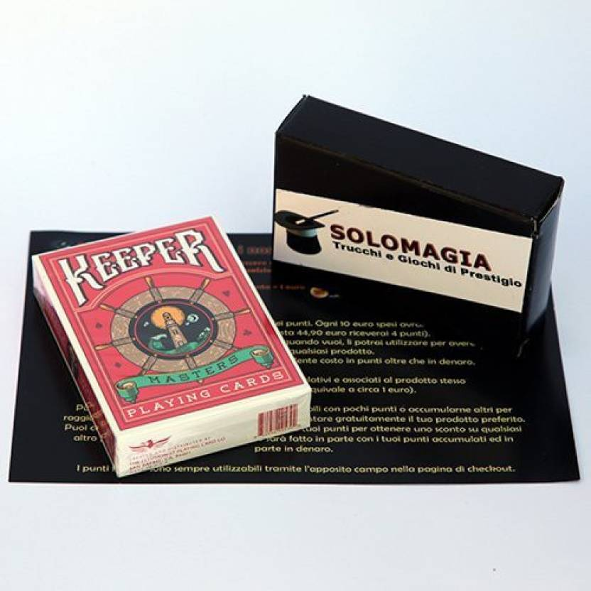 Ellusionist Keeper Deck Marked Red By Ellusionist Card Games