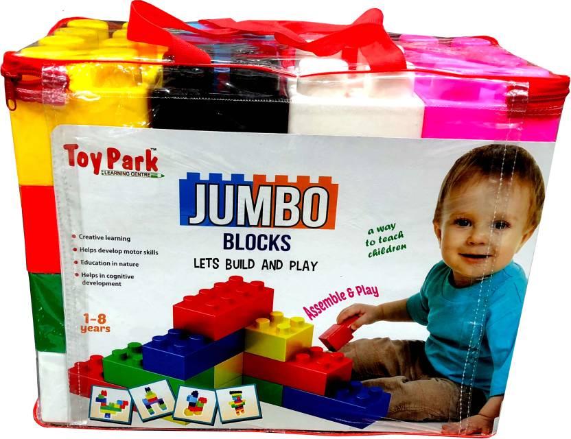 Toy Park Jumbo Blocks Set (33 pcs ) - Jumbo Blocks Set (33 pcs