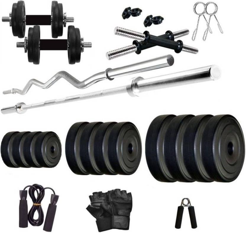 0a210b67bde Star X PVC 24 Kg Home Gym Combo Adjustable Dumbbell - Buy Star X PVC ...