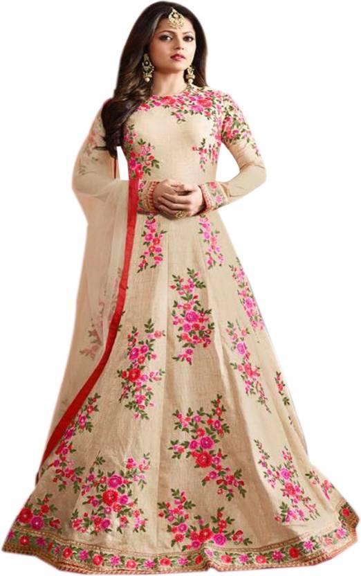 0529f431f7ba Ap Enterprise Anarkali Gown Price in India - Buy Ap Enterprise ...