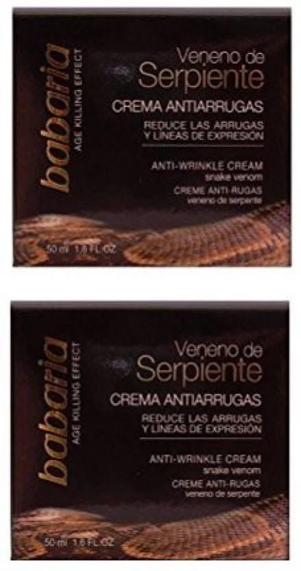 babaria Snake Venom AntiWrinkle Face Cream - Price in India, Buy
