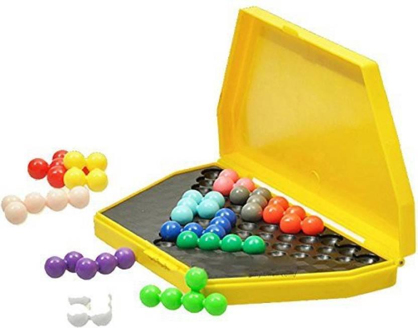 YouMiYa Classic Iq Logic Puzzle Kids Mind Brain Teaser Beads Puzzles