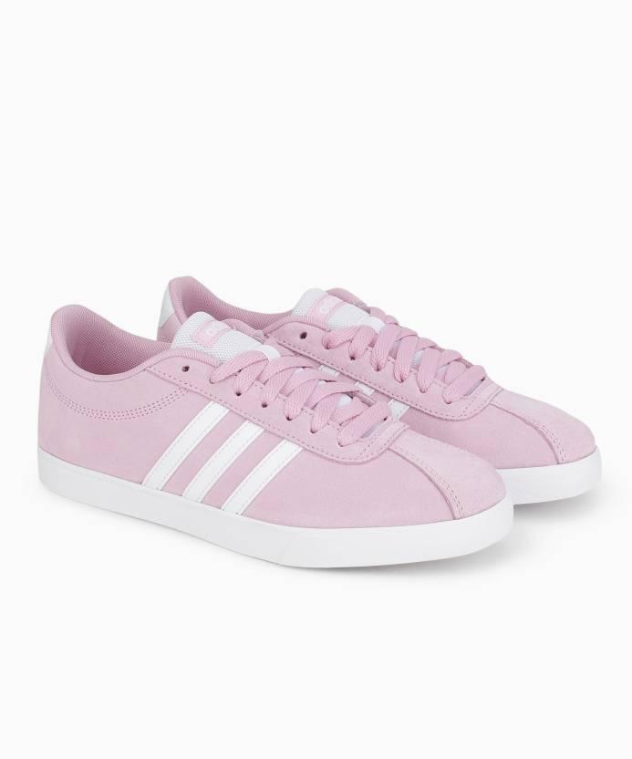 ADIDAS COURTSET Sneakers For Women - Buy FROPNK FTWWHT FTWWHT Color ... 862d0c0c0e