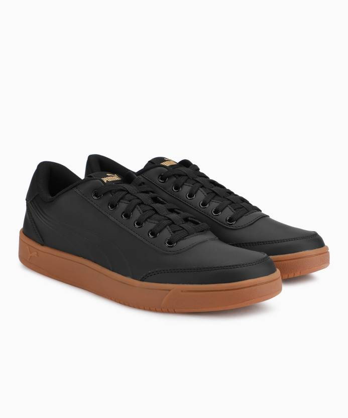 Puma Court Breaker L Mono Sneakers For Men - Buy Puma Black-Puma ... a0fa21f0b