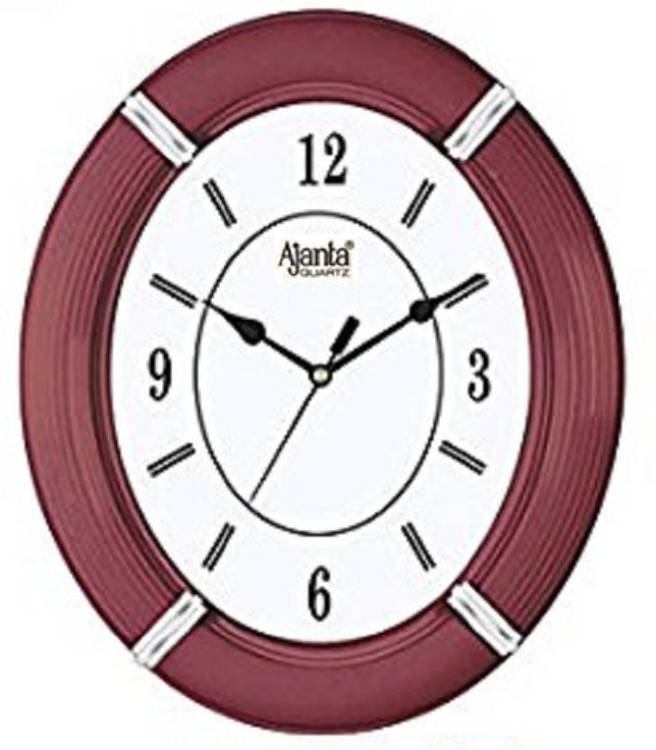 15922b2af Ajanta Quartz Analog Wall Clock Price in India - Buy Ajanta Quartz ...