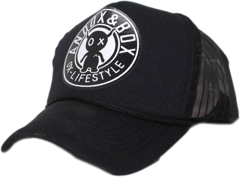 Friendskart Printed Brand new Cartoon ANDOX   BOX pattern mesh baseball cap  men hat mainstream hip 24409b9e3255