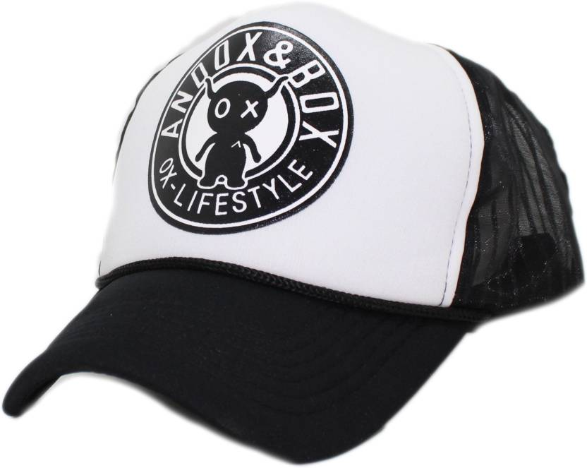 471cf225d6f2f Friendskart Printed Brand new Cartoon ANDOX & BOX pattern mesh baseball cap  men hat mainstream hip-hop hat for Boys&girls wholesale Half Net Cap Cap ...