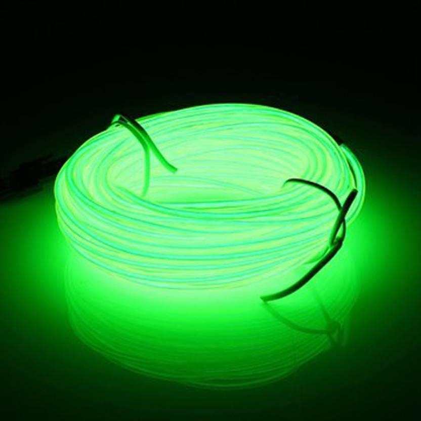 Generic 10 M Led Flexible Soft Tube Wire Neon Glow Car Rope