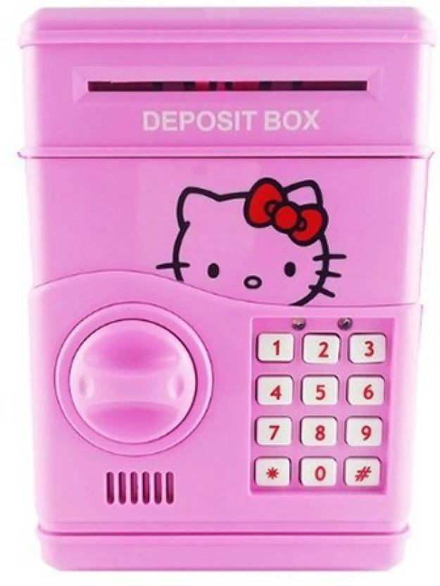 NMW Hello Kitty ATM Coin Bank Price in India - Buy NMW Hello