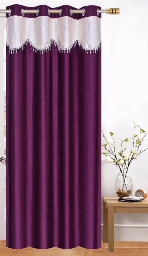 eac06ae48217 Achintya 152.4 cm (5 ft) Polyester Window Curtain Single Curtain (Self  Design
