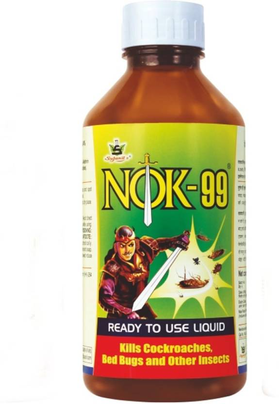 NOK 99 Premium Ready To Use Liquid Multipurpose Cockroach And Insect Killer