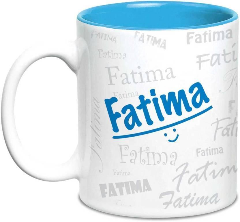 lof fatima name gift ceramic inside blue gifts for birthday ceramic