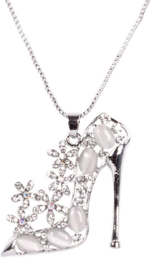 5394f520200f5 Indian Petals Designer Fancy Stylish Swarovski-like Diamonds Rhinestone  studded Ladies Sandal Heel Design Fashion Jewellery ...