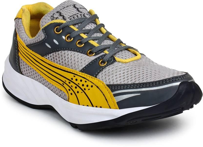 BUWCH Men S Grey Sports Shoe  d5230df94
