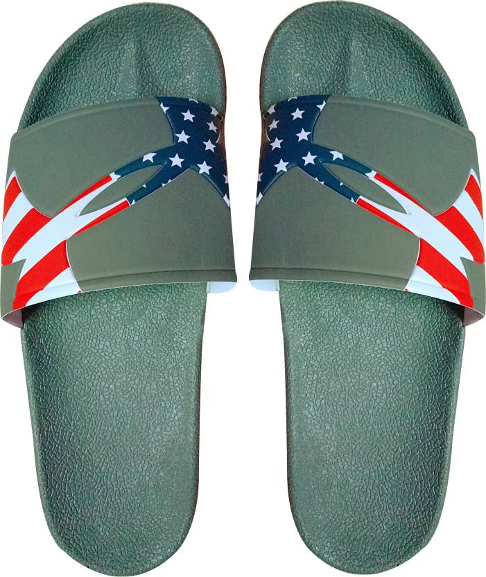 6359ed5b05b ADHIRAJ America House Slippers For Men And Boys Slides - Buy ADHIRAJ  America House Slippers For Men And Boys Slides Online at Best Price - Shop  Online for ...