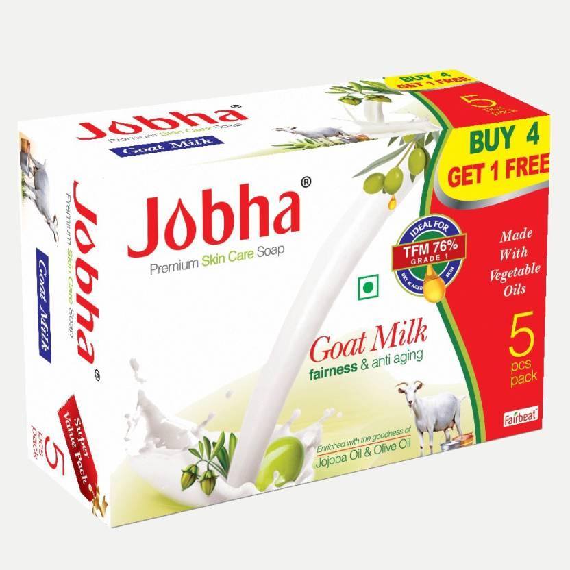 JOBHA Goat Milk Soap with Jojoba Oil and Olive Oil 375g