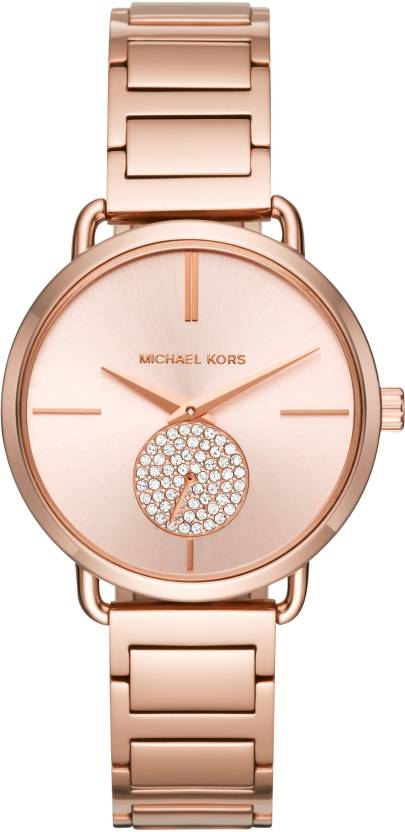 ad60ad29a8d5 Michael Kors MK3640 Portia Rose Gold-tone Watch - For Women - Buy ...