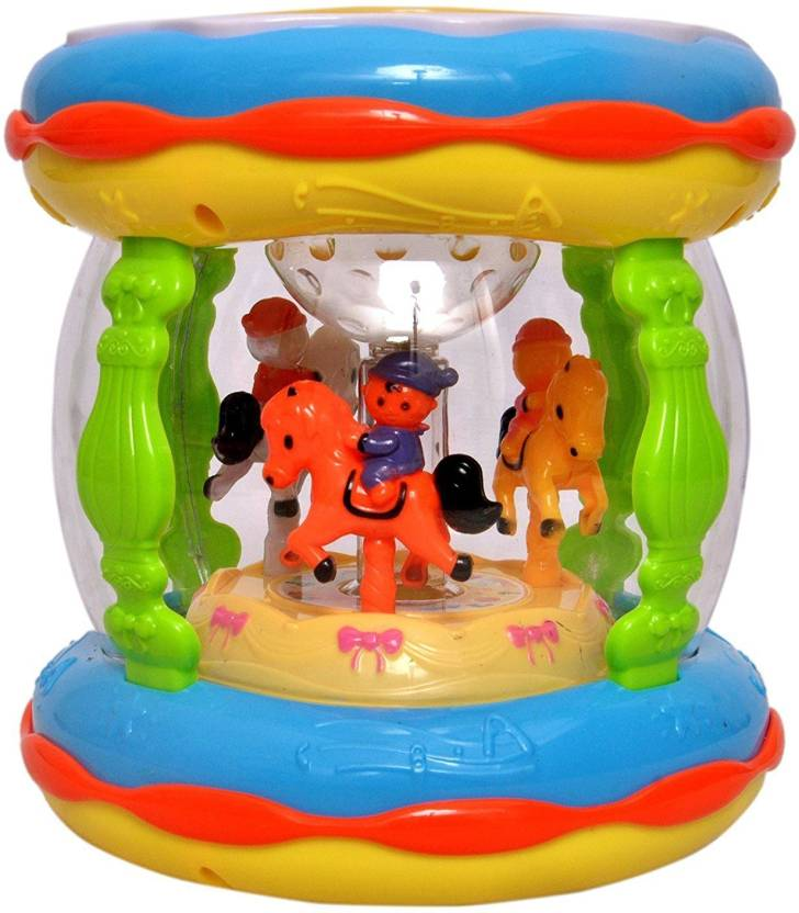 Baby Tintin Musical Merry-Go-Round Music Drum / Toddlers