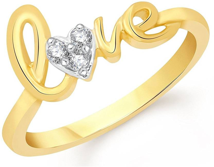 6495970151a8a0 Lady Touch Lady touch Gold Platinum Plated Cz Austrian Crystal Love Ring  With Velvet Red Rose Ring Box For Women And Girls Alloy Platinum Plated Ring  Price ...