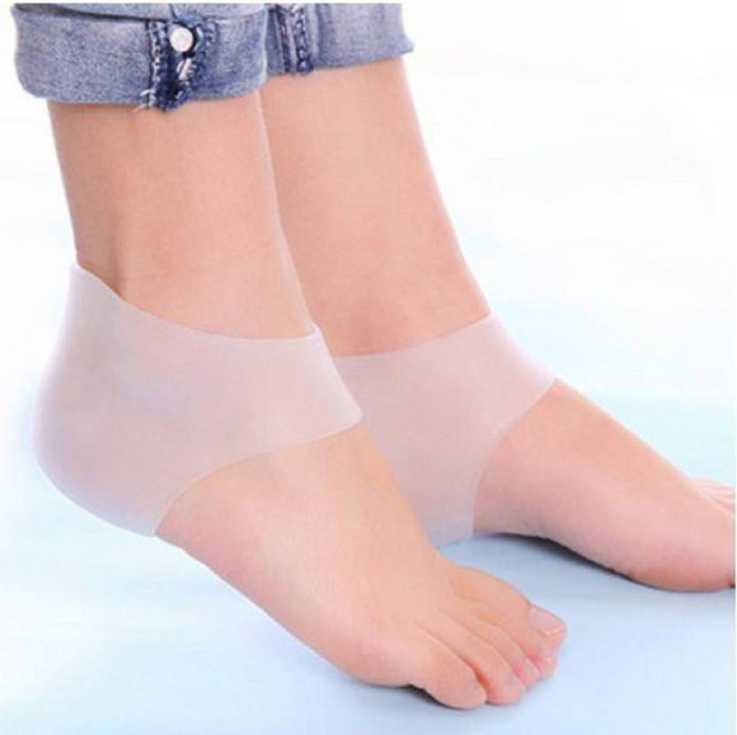 7b3283ea13 QUINERGYS Plantar Fasciitis Heel Cushion Foot Sleeve Heel Support (Free  Size, Clear-2) - Buy QUINERGYS Plantar Fasciitis Heel Cushion Foot Sleeve  Heel ...