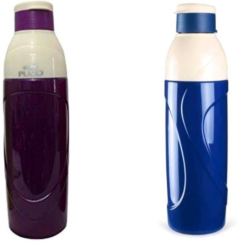 e68d2cb5f Cello CELLO puro classic 900 ml water bottle ( pack of 2 ) 900 ml Water  Bottles (Set of 2