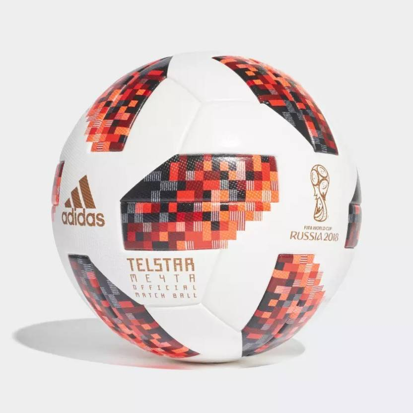 2935285b0ce ADIDAS FIFA World Cup 2018 Official Match Ball Knockout Stage Football -  Size  5 (Pack of 1