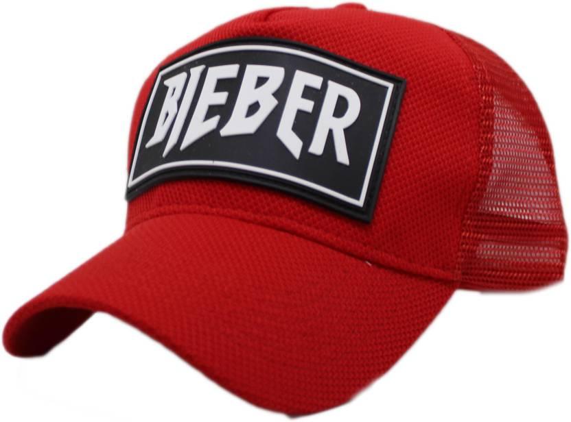 4c2fcfef0e Friendskart Printed BIEBER baseball cap summer mesh hats adult ...