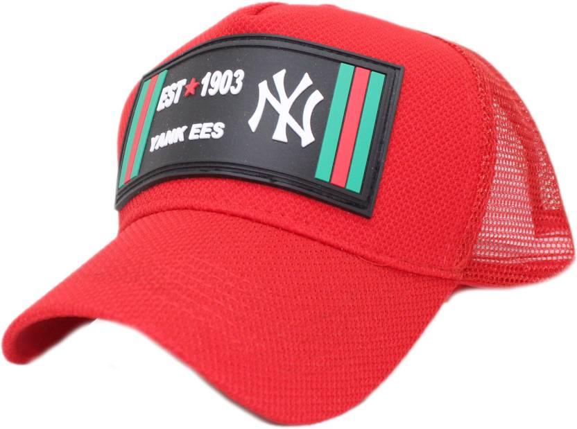 6e0fff322a0 Friendskart Printed NY 1903 baseball cap summer mesh hats adult unisex  casual baseball caps adjustable cap