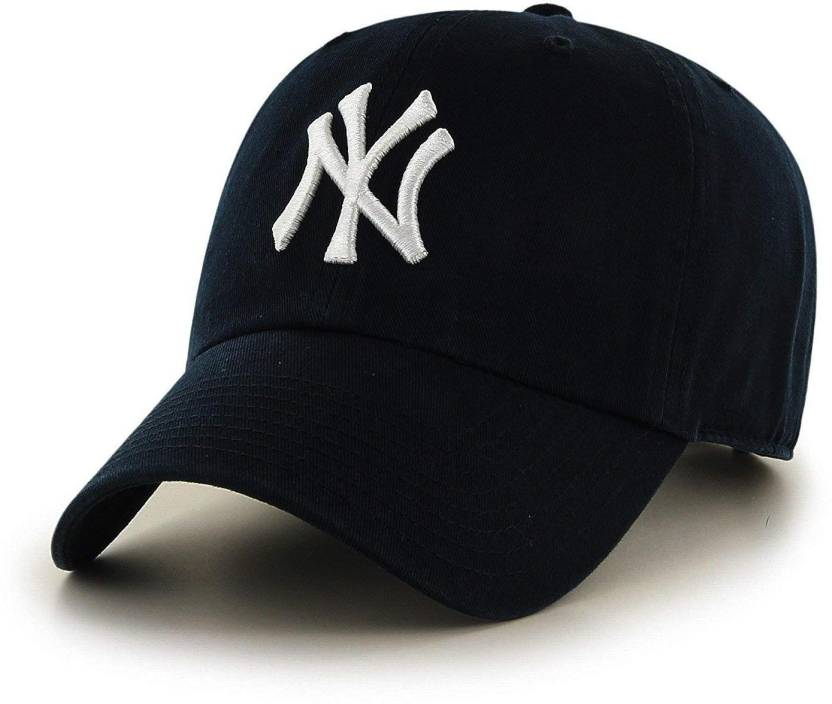 5bd56bb68 House of Quirk Solid Baseball Caps by New York Yankees Cap Cap