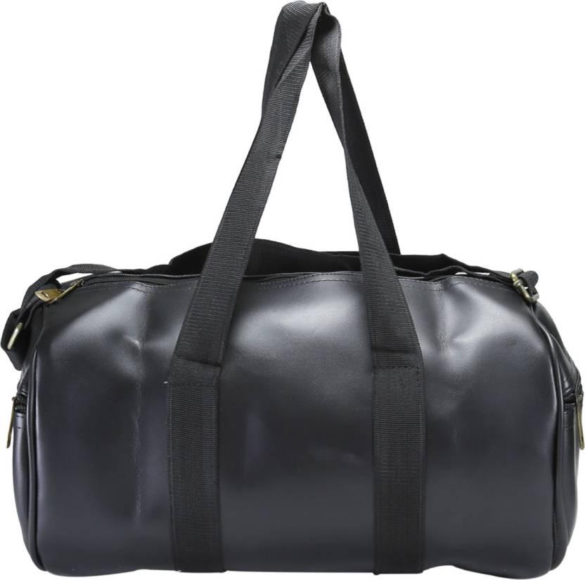 Desence Women   Girls Stylish Genuine Leather Duffle Cum Gym Bag Travel  Duffel Bag Gym Bag f9c67aad6a