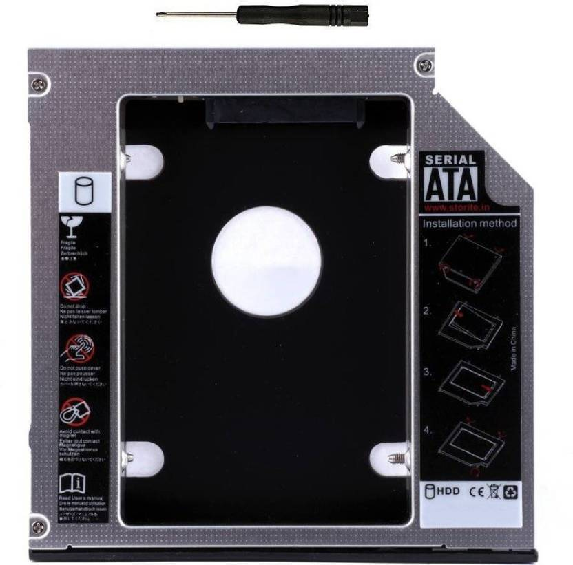 M Mod Con 9 5mm Universal 2nd Hard Drive Bay Caddy For  CD/DVD-ROM,Laptop,Macbook PRO 2 5 Internal Hard Drive Enclosure/HDD Caddy