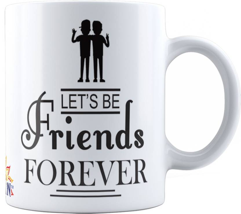 Suvan Friendship Quotes Printed Tea And Coffee For Friend Suwmfrd022