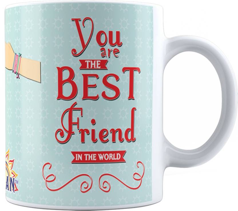 Suvan Friendship Quotes Printed Tea And Coffee For Friend Suwmfrd010