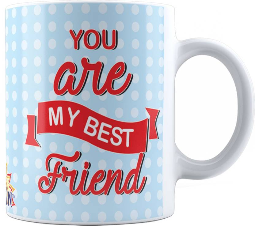 Suvan Friendship Quotes Printed Tea And Coffee For Friend Suwmfrd020