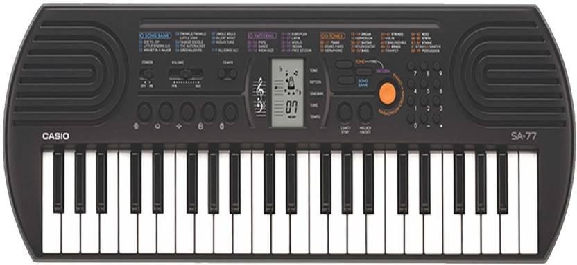 4f721192f Casio SA 76 Mini Keyboard (44 Keys) Digital Portable Keyboard Price ...