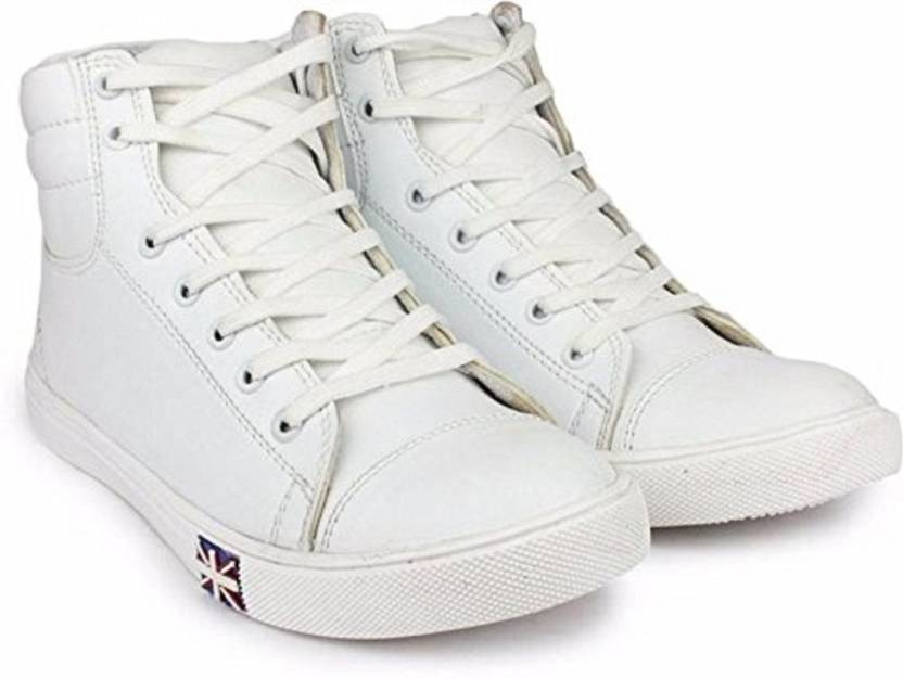 DEVYANSHI DEVYANSHI WHITE CASUAL BOOTS FOR MEN Boots For Men - Buy ... 2f98228f52e5