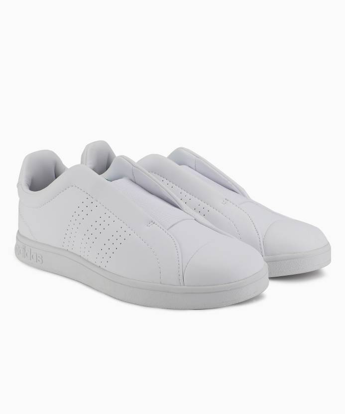 best sneakers 11b5a 7ce3a ADIDAS ADVANTAGE ADAPT Tennis Shoes For Women (White)