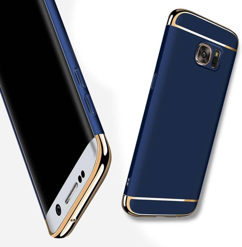 MagicHub Back Cover for Samsung Galaxy J7 Prime Blue Chrome