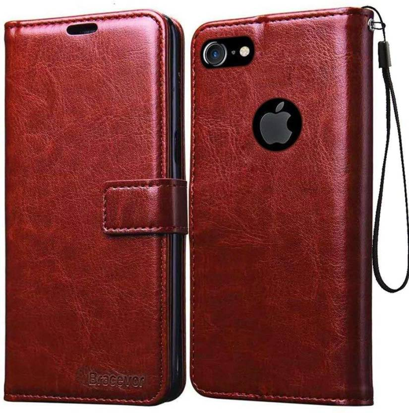 check out 9ae39 c6664 Bracevor Flip Cover for Apple iPhone 7