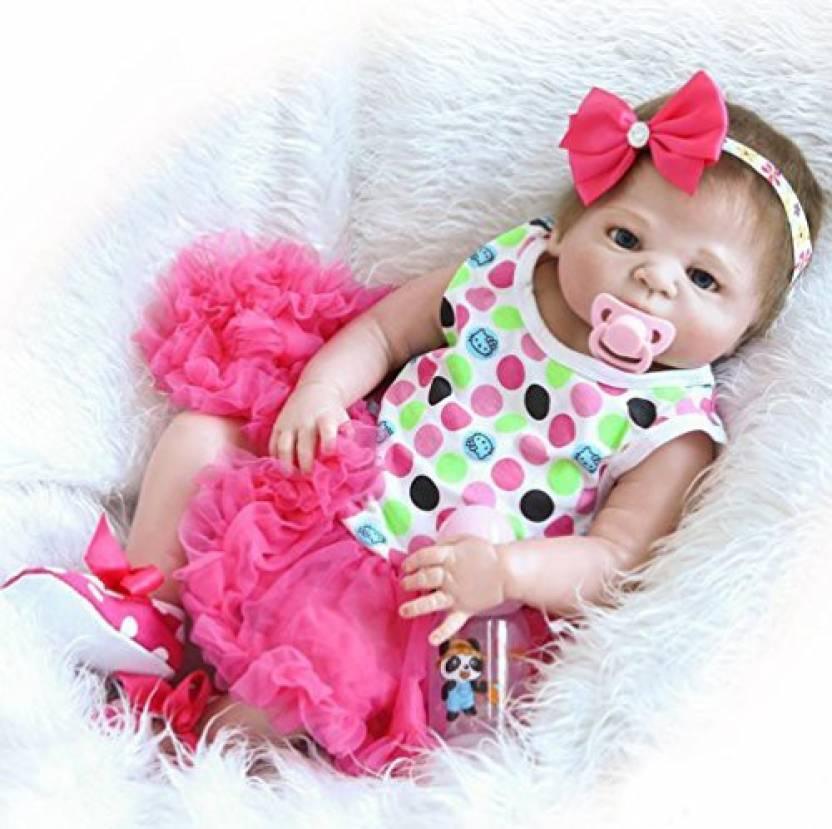 95ab5e226994 Generic NPK 20 Inch Full Body Silicone Toys Realistic Reborn Baby ...