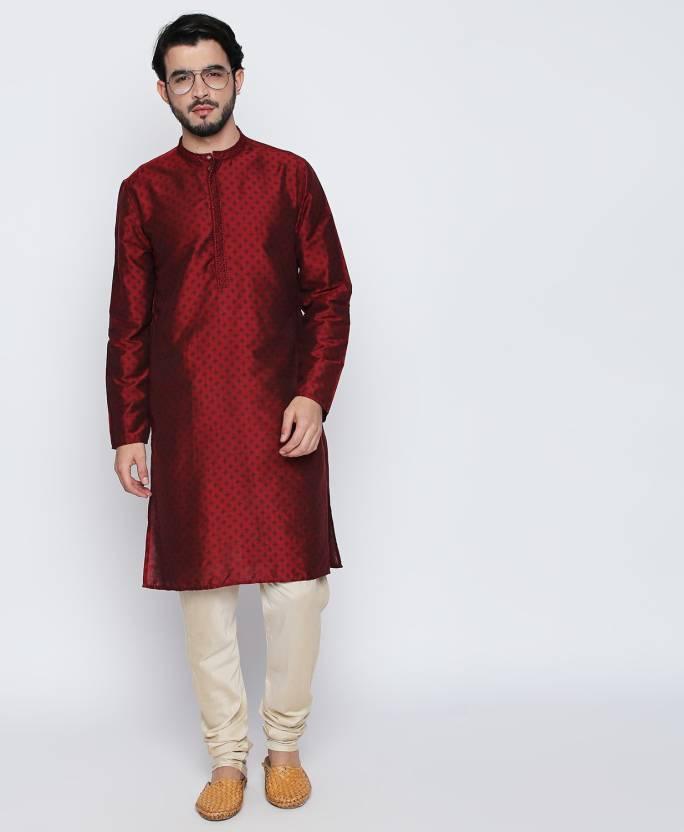 dd2088ad1d Shatranj by FBB Men Kurta and Pyjama Set - Buy Shatranj by FBB Men Kurta  and Pyjama Set Online at Best Prices in India | Flipkart.com