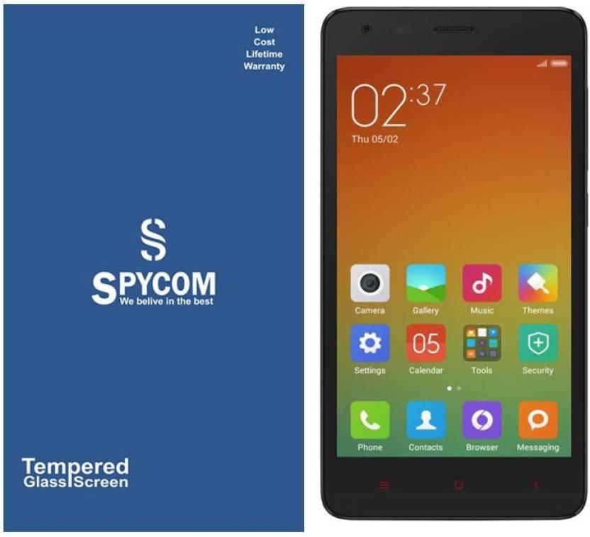 purchase cheap 9ded1 38ddf Spycom Tempered Glass Guard for MI Redmi 2s/ 2 Prime (full body ...